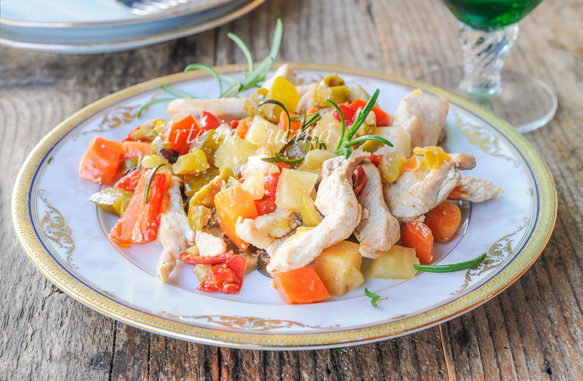 Straccetti di pollo alla franceschiello ricetta veloce vickyart arte in cucina