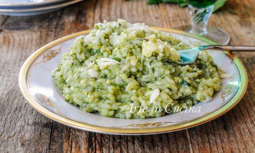 Risotto spinaci e formaggio cremoso e veloce