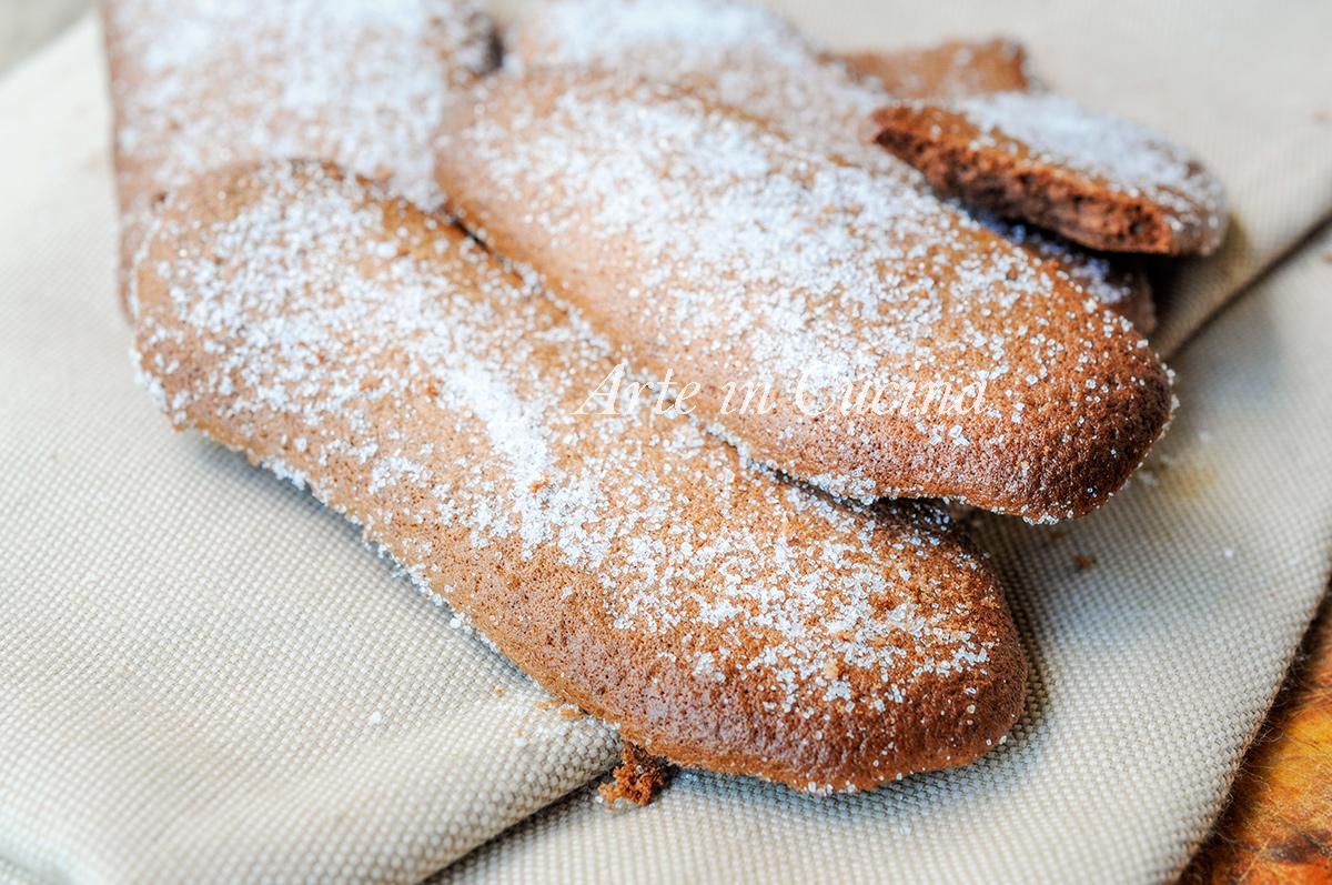 Savoiardi al cioccolato ricetta biscotti veloci vickyart arte in cucina