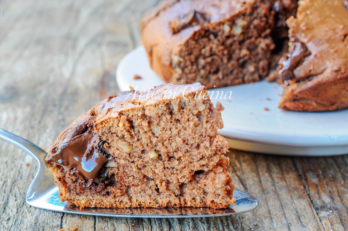Torta al cioccolato con frullatore velocissima vickyart arte in cucina