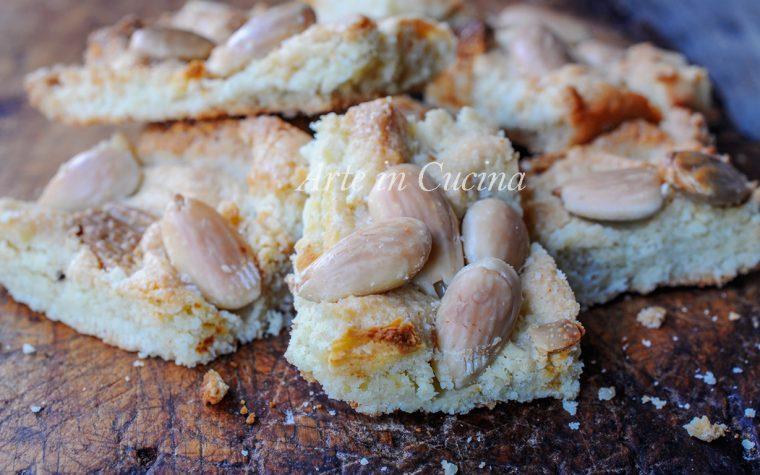 Trancini di mandorle e cioccolato bianco ricetta veloce