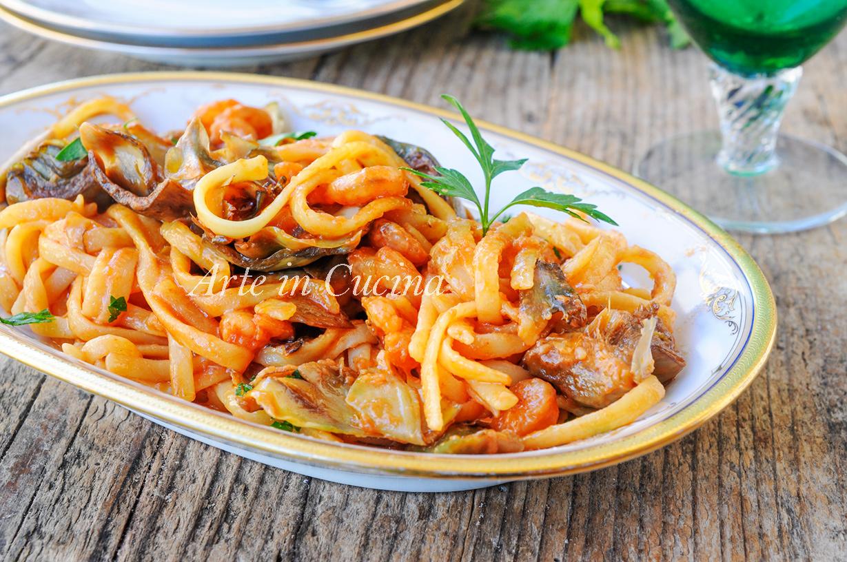 Fettuccine aurora ricetta napoletana veloce vickyart arte in cucina