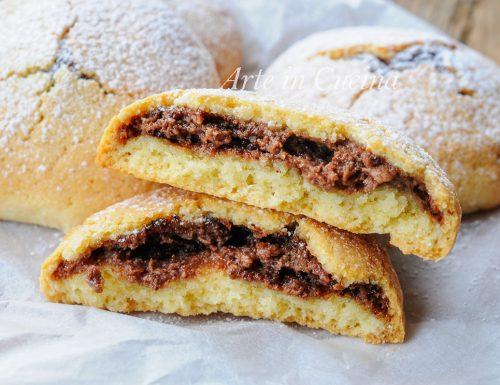 Frolle ricotta e nutella ricetta dolce veloce