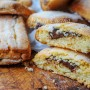 Frollini di mandorle alla nutella ricetta biscotti vickyart arte in cucina