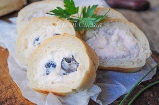 Girelle di pane con mousse antipasto freddo veloce vickyart arte in cucina