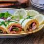 Girelle di scamorza affumicata e zucchine veloci vickyart arte in cucina
