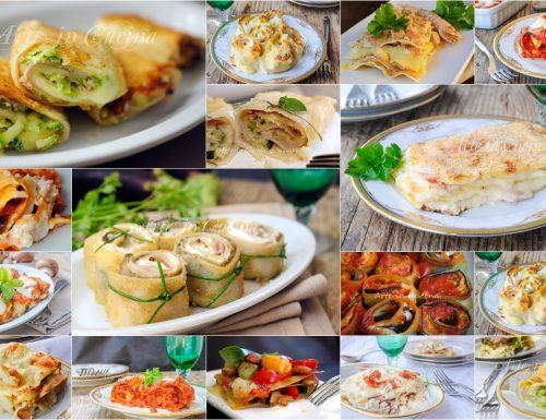 Lasagne e rotoli di pasta al forno ricette facili