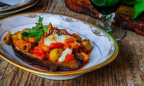 Melanzane ripiene di verdure e provola ricetta facile