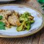 Scaloppine di vitello con zucchine cremose in padella vickyart arte in cucina