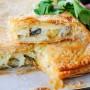 Schiacciata di sfoglia patate e melanzane ricetta facile vickyart arte in cucina
