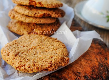Brutti ma buoni al caffè biscotti croccanti veloci