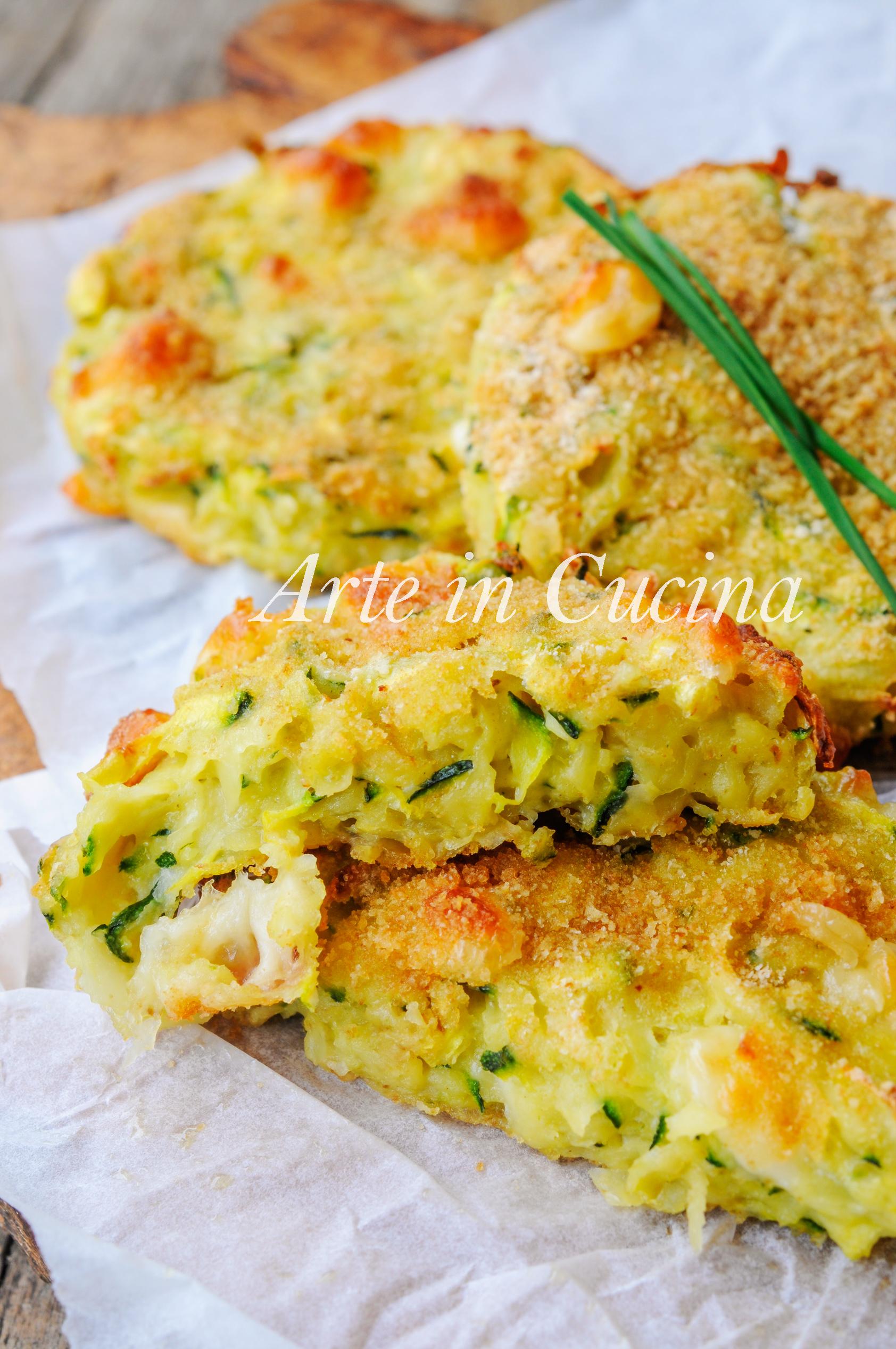 Burger di patate e zucchine ricetta veloce vickyart arte in cucina
