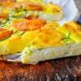 Crostata di semolino con zucchine e ricotta veloce vickyart arte in cucina
