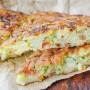 Frittata di riso e zucchine al formaggio in padella vickyart arte in cucina