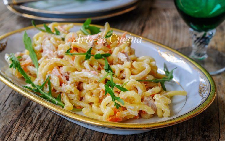 Pasta tonno e carote cremosa ricetta veloce