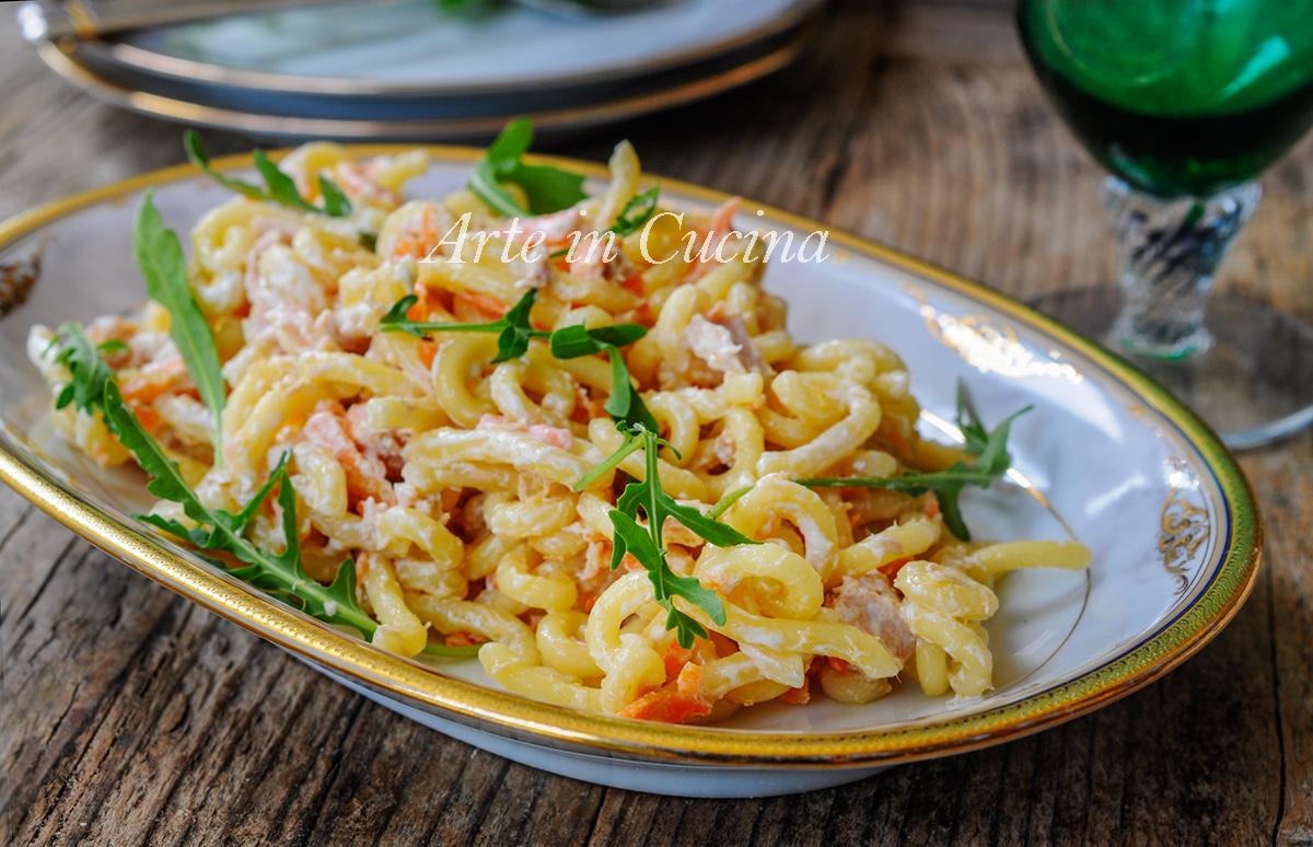 Pasta tonno e carote cremosa ricetta veloce arte in cucina for Cucina veloce e semplice