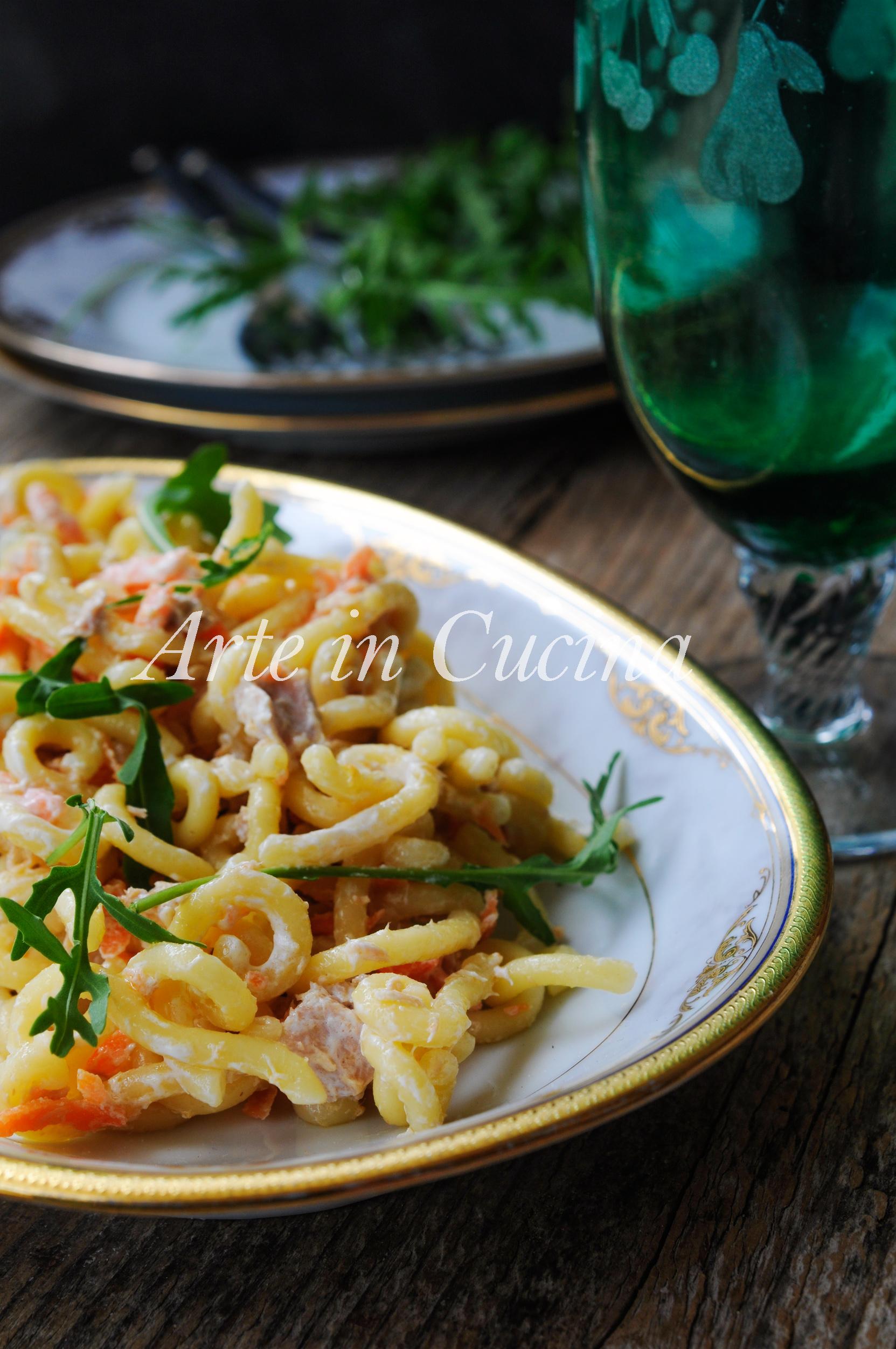 pasta tonno e carote cremosa ricetta veloce | arte in cucina - Pasta Veloce Da Cucinare