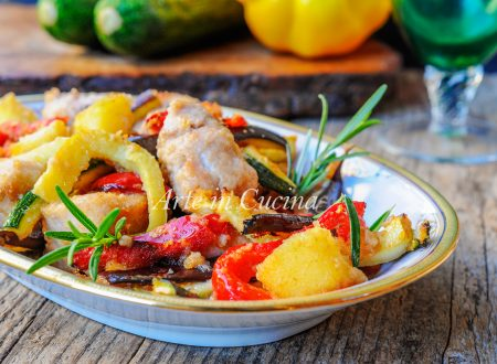 Pollo con verdure gratinate al forno ricetta veloce