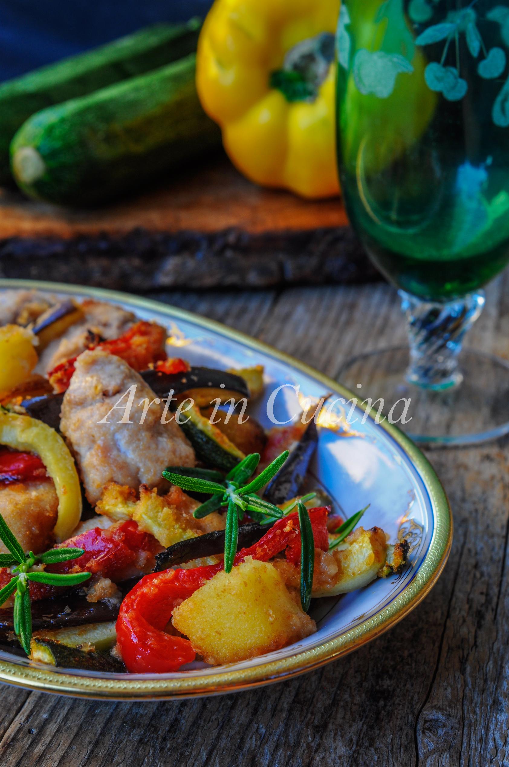 Pollo con verdure gratinate al forno ricetta veloce vickyart arte in cucina