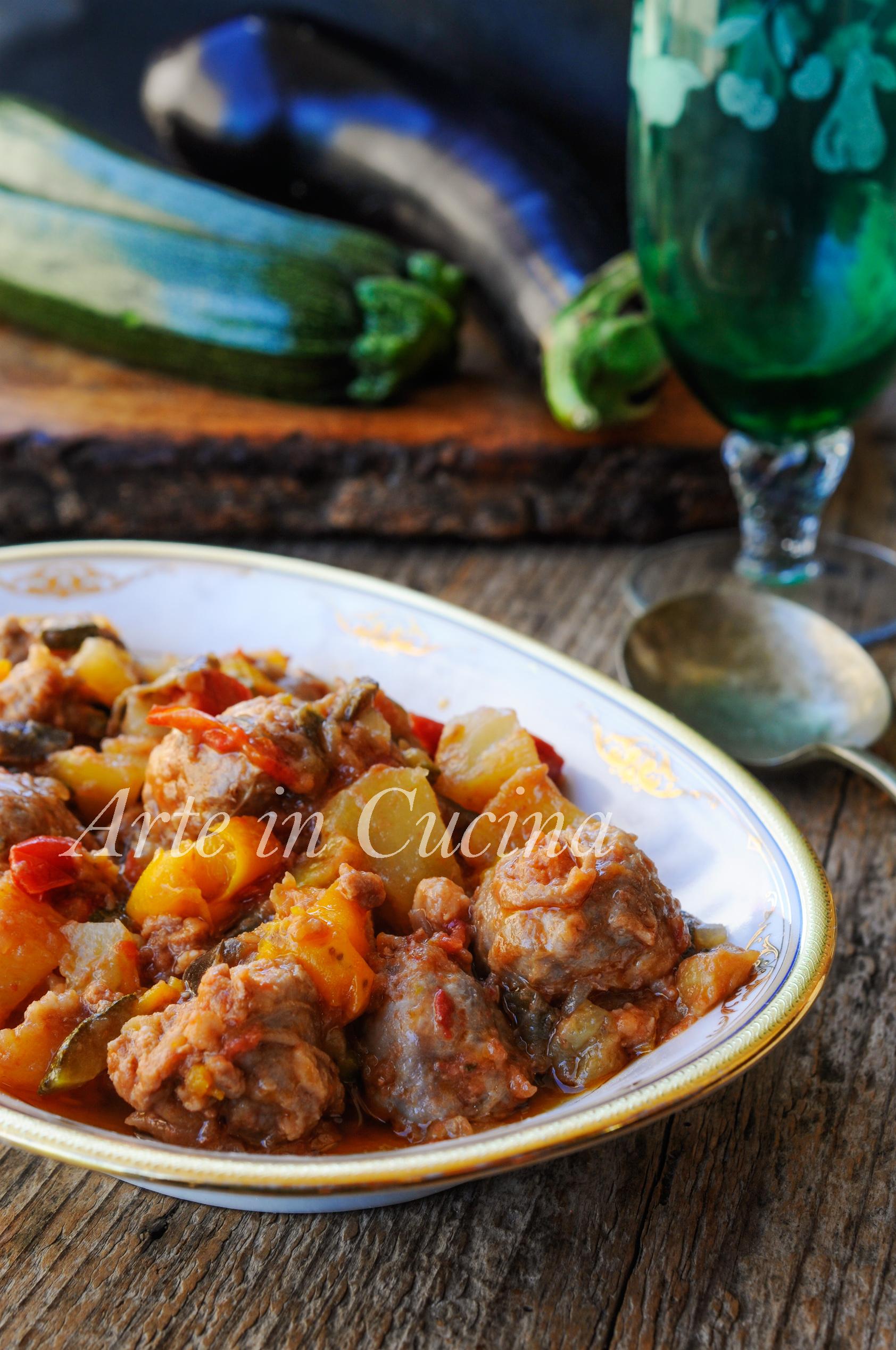 Salsicce in padella con verdure ricetta facile vickyart arte in cucina