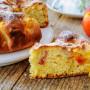 Torta morbida alle pesche e ricotta senza olio e burro vickyart arte in cucina