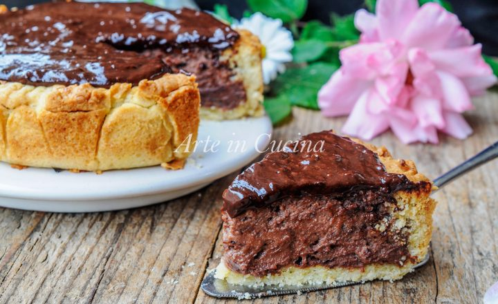 Torta Susanna al cioccolato dolce veloce cremoso