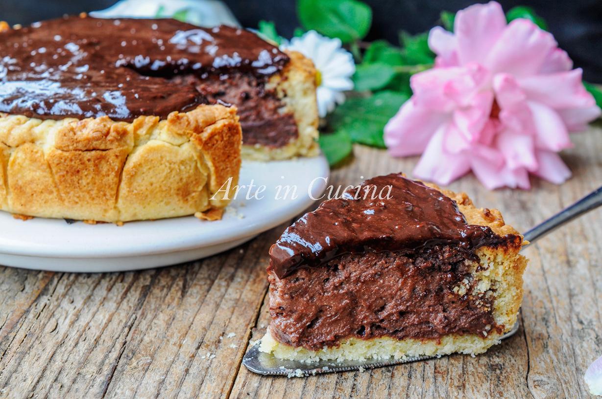 Torta susanna al cioccolato dolce veloce cremoso arte in for Cucina dolce