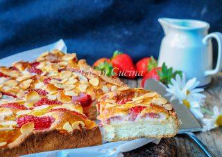 Torta veloce alle fragole e mascarpone senza burro vickyart arte in cucina