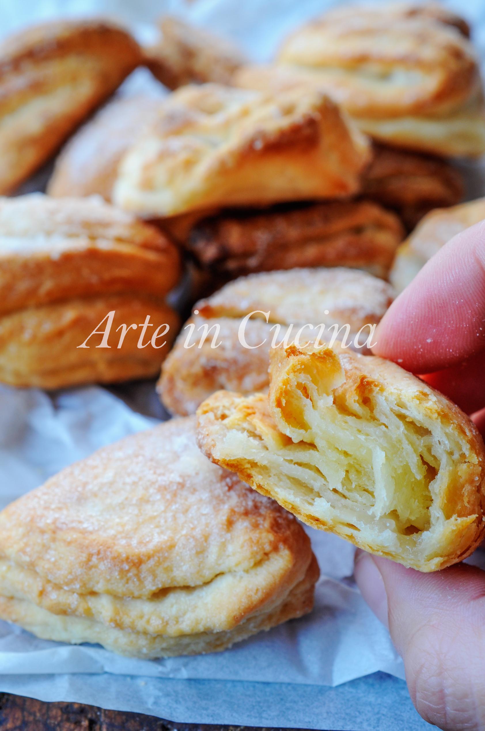 Biscotti morbidi sfogliati chig'anoq pechenyelar vickyart arte in cucina