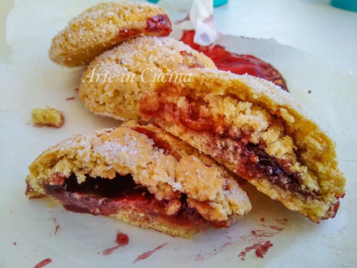 Frolle all'olio con pesche e marmellata senza bilancia vickyart arte in cucina