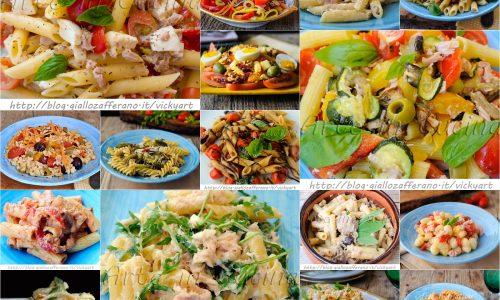 Insalate di pasta fredde ricette estive veloci