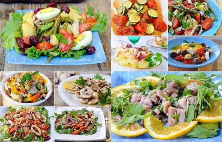 Insalate fredde estive ricette sfiziose