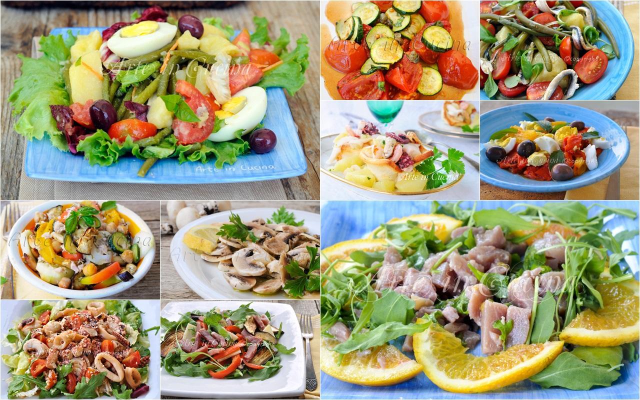 Insalate fredde estive ricette sfiziose e veloci for Ricette insalate