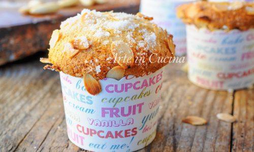 Muffin alle mandorle senza uova e burro