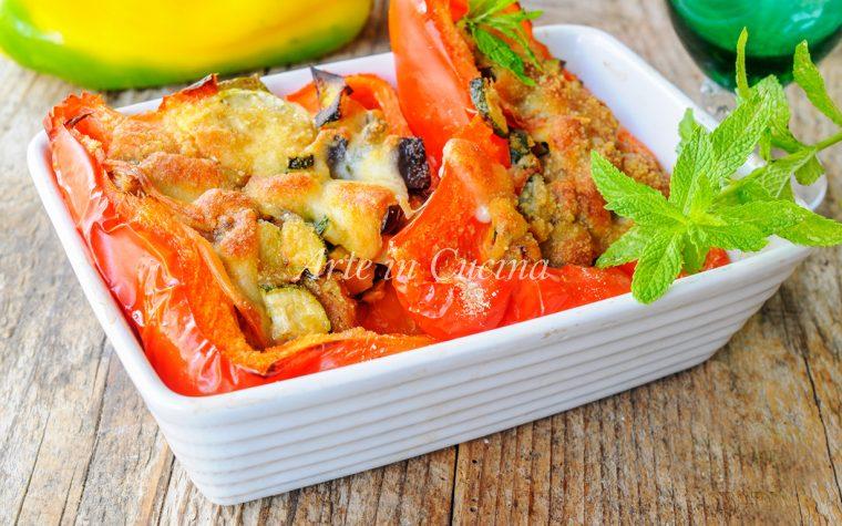 Peperoni ripieni alla montanara ricetta facile