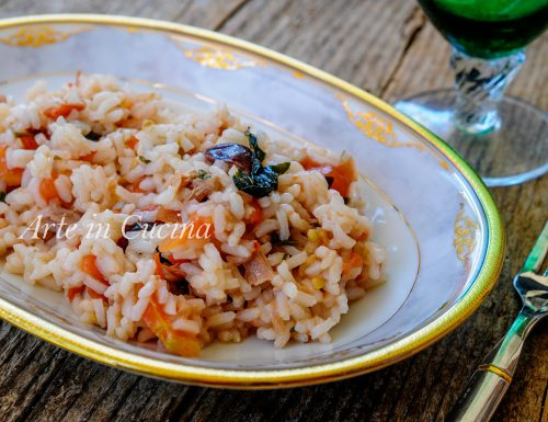 Riso tonno e pomodorino fresco all'insalata ricetta veloce