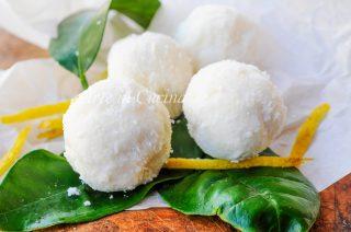 Tartufini limone e cocco veloci senza cottura vickyart arte in cucina