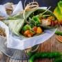 Tortillas agli spinaci con pollo e peperoni vickyart arte in cucina