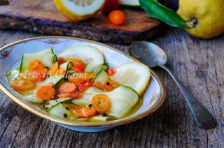 Carpaccio di zucchine al limone facile e veloce vickyart arte in cucina