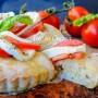 Crostata di pizza caprese soffice e facile vickyart arte in cucina