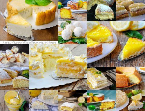 Dolci al limone ricette facili e golose