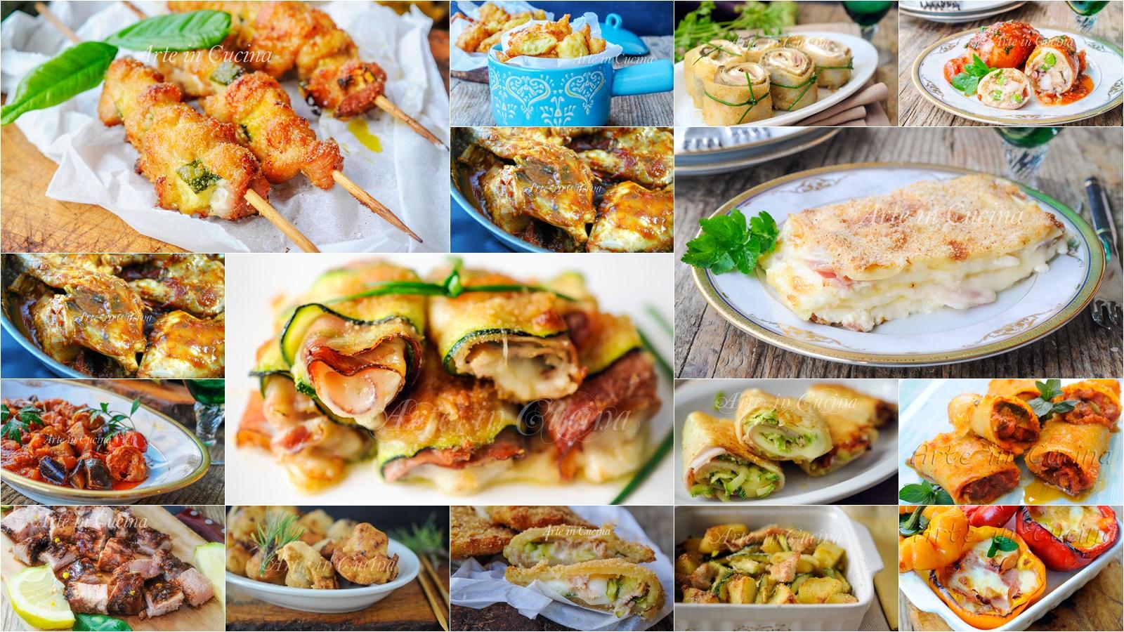 Menu per ferragosto carne e pesce ricette facili arte in for Ricette pesce facili