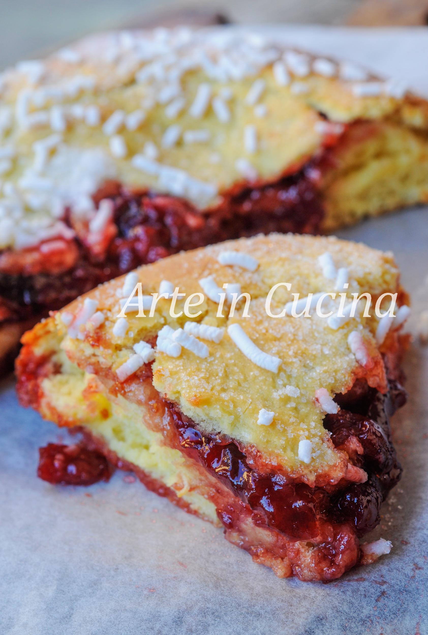 Focaccia alla marmellata sofficissima e facile vickyart arte in cucina