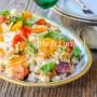 Fregola con insalata di mare e ceci ricetta facile vickyart arte in cucina