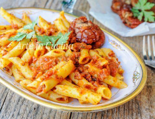 Pasta al pesto di pomodori secchi ricetta veloce
