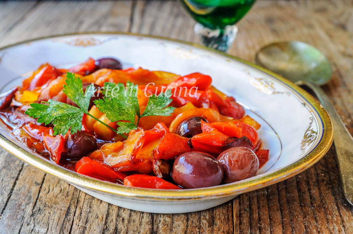 Peperoni alla napoletana ricetta facile