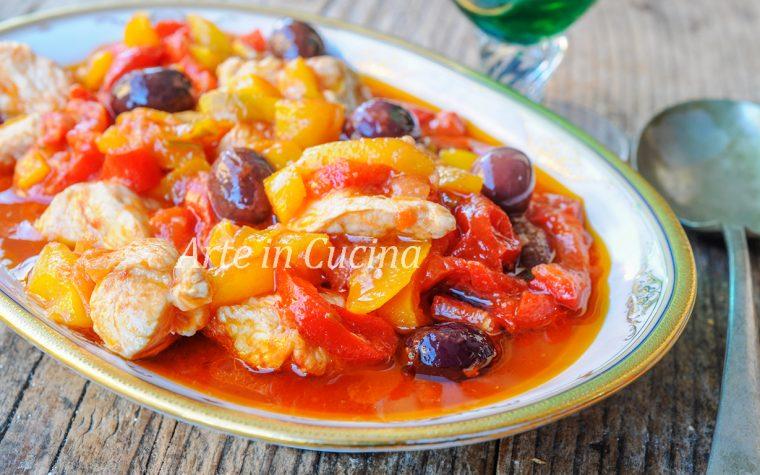 Spezzatino di tacchino ai peperoni ricetta veloce