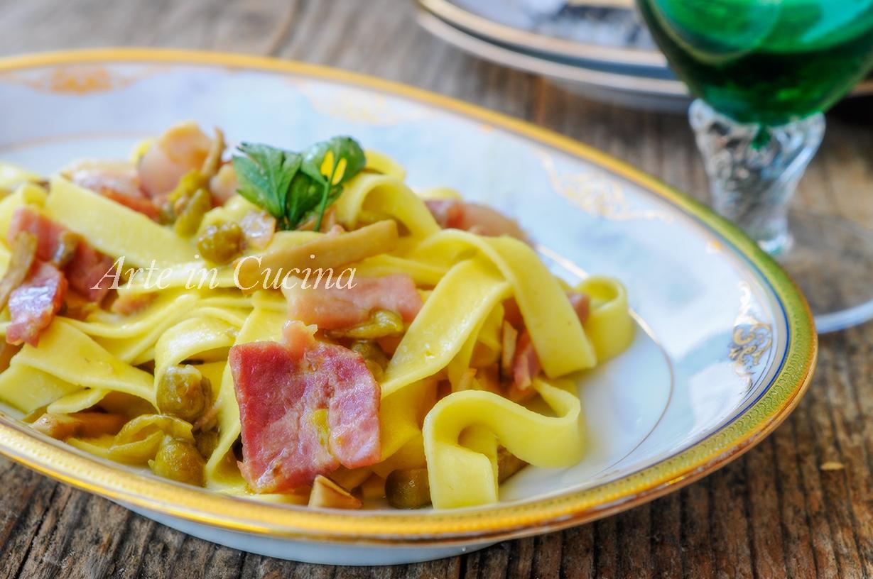 Tagliatelle alla marsicana ricetta abruzzese facile arte for Cucina facile ricette