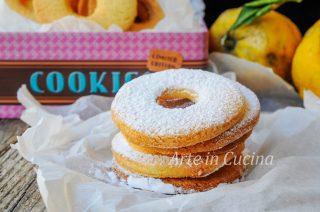 Taralle al limone e mandorle biscotti veloci vickyart arte in cucina