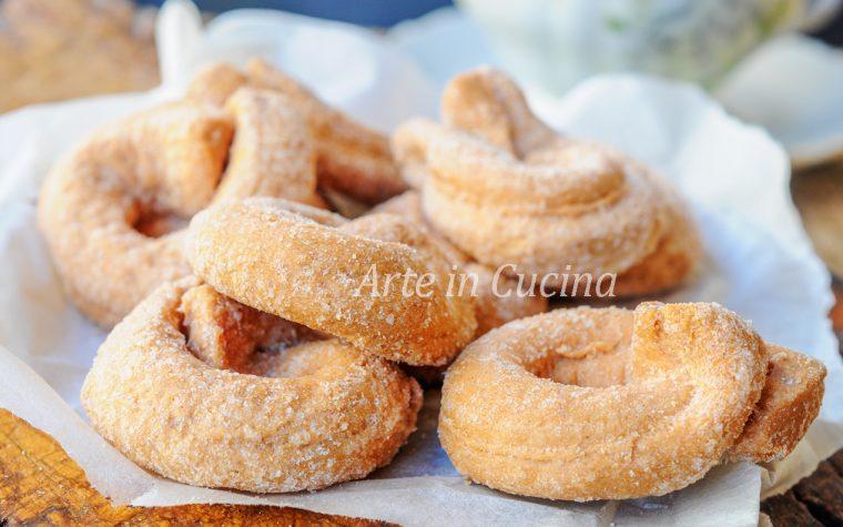 Taralli zenzero e limone biscotti veloci
